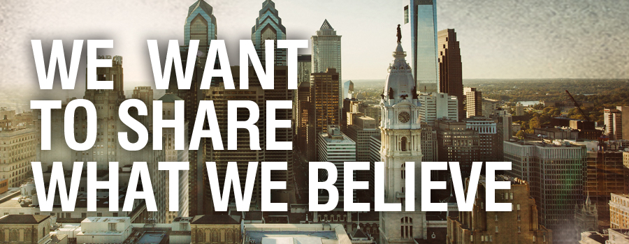 OUR BELIEF